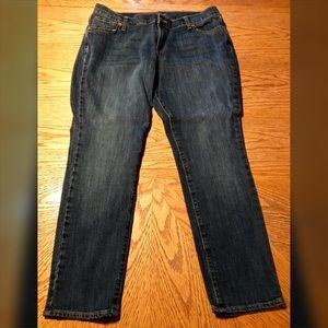 Old Navy Flirt Style Jeans, Size 14 Petite